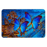 Imán de Pemium del arte 35 de la mariposa