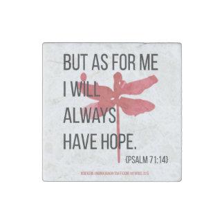 Imán de piedra de la esperanza