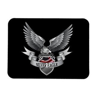 Imán de plata de Eagle