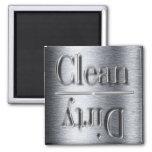 imán de plata del lavaplatos