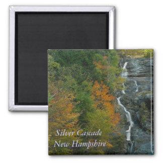 Imán de plata del NH   de la cascada