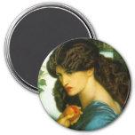Imán de Proserpine de Dante Gabriel Rossetti