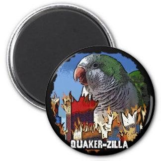Imán de QuakerZilla