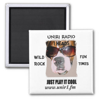 IMÁN DE RADIO UNIR1 CON LA CABEZA DEL BOXEADOR (CA