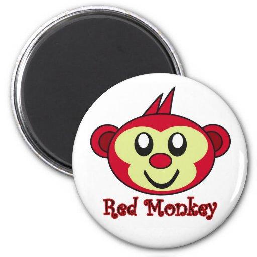 Imán de Red Monkey