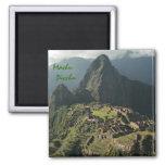 Imán de Refigerator del recuerdo de Machu Picchu