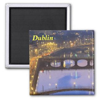 Imán de RiverLiffey Dublín