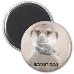 Imán de Rocket Dog