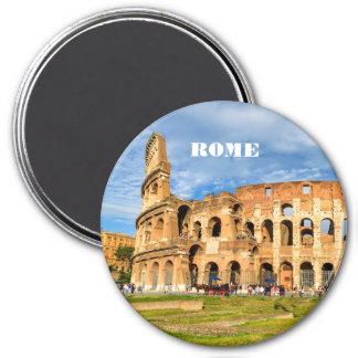 Imán de Roma con Colosseum