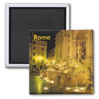 Imán de Roma de la fuente del Trevi