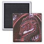 Imán de rubíes del cuadrado del dragón
