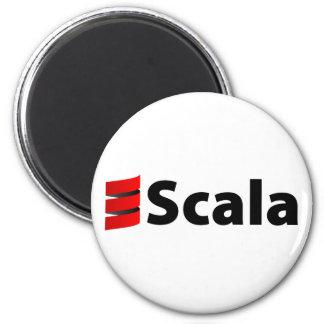 Imán de Scala, logotipo de Scala