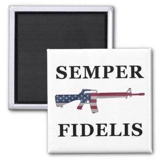 Imán de Semper Fidelis M16