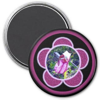Imán de señora deslizador rosada 2