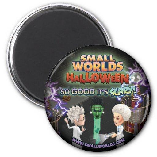 Imán de SmallWorlds Halloween: Frankenstein