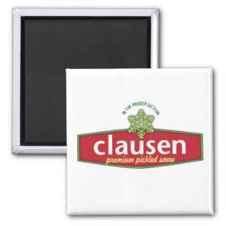 Imán de Snow Company de Clausen Premium Pickled