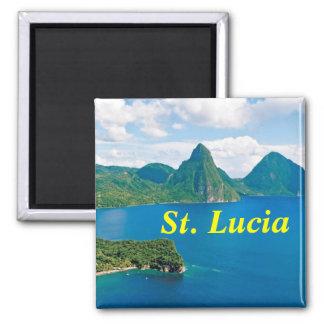 imán de St Lucia