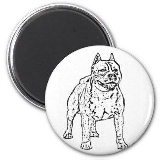 Imán de Staffordshire Terrier americano