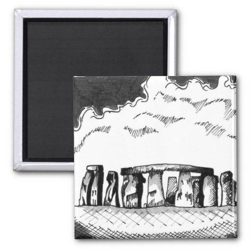 Imán de Stonehenge