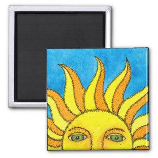 Imán de Sun del verano