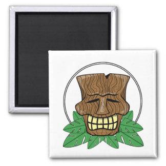 Imán de Tiki - máscara del cráneo