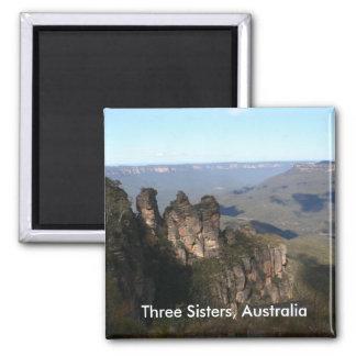 Imán de tres hermanas