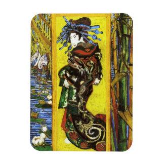 Imán de Van Gogh Japonaiserie Oiran