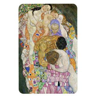 Imán de vida y de la muerte de Gustavo Klimt