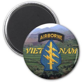 imán de Vietnam de las boinas verdes de las fuerza