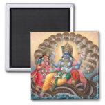 Imán de Vishnu y de Lakshmi - versión 2