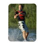 Imán de Wakeboarding del lago