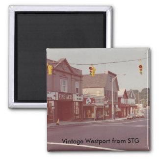 Imán de Westport del vintage - teatro de bellas