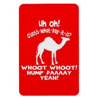 Imán de Whoot Whoot Flexi del camello del día de c