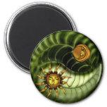 Imán de Yin Yang del Día de la Tierra