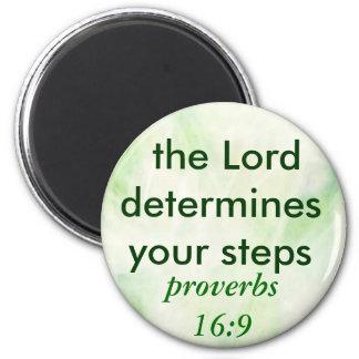 imán del 16:9 de los proverbios