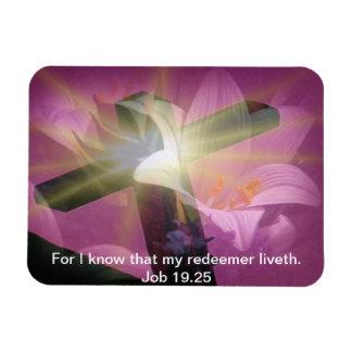Imán del 19:25 del trabajo del verso de la biblia