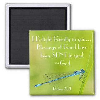 Imán del 21:3 del salmo del verso de la biblia de