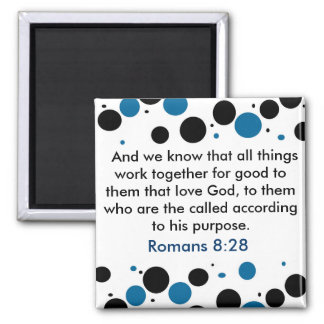 Imán del 8:28 de los romanos
