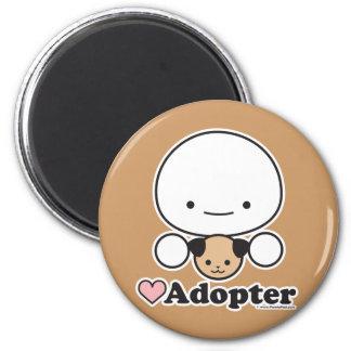Imán del adoptante (perro) (más estilos)