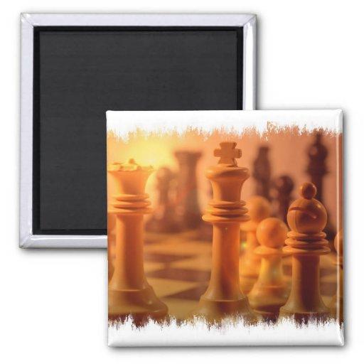 Imán del ajedrez del juego