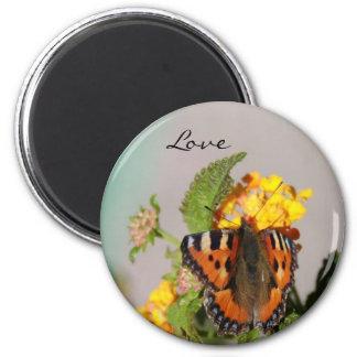 Imán del amor de la mariposa