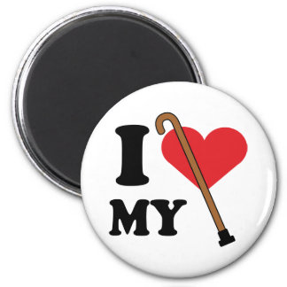 Imán del amor del bastón