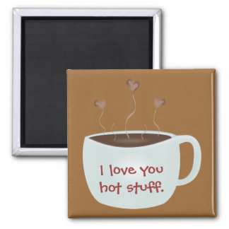 Imán del amor del café