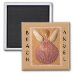 Imán del ángel de la playa