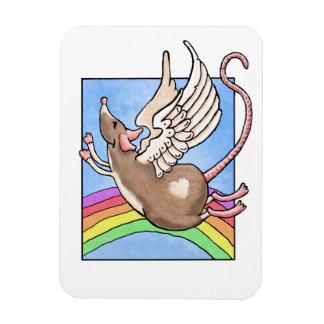Imán del ángel de la rata