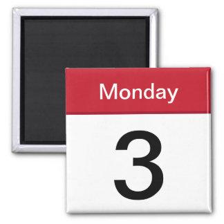 imán del App del iPhone - calendario - personaliza