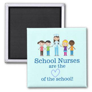 Imán del aprecio de la enfermera de la escuela