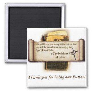 Imán del aprecio del pastor