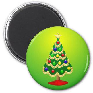 Imán del árbol de navidad