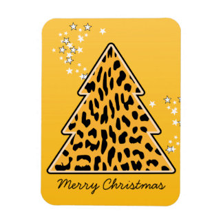 Imán del árbol de navidad del guepardo del leopard